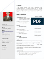 coolfreecv_resume_with_photo