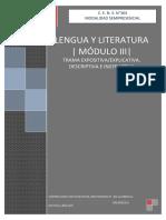 Cens 364 - Lengua y Literatura - Módulo III - Trama Expos. Descrip e Instructiva Docx
