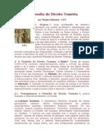 Paulo Faitanin - A Filosofia do Direito Tomista