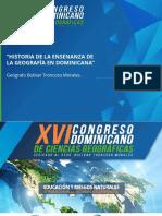 Historia de la Ensenanza de la Geografica en Republica Dominicana - Bolivar Troncoso Morales.pdf