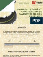 CLASE 3 PAVIMENTOS- SUBRASANTE