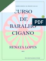 Curso de Baralho Cigano 1º E-book do Curso Avançado- Renata Lopes