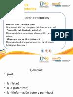 Manejo de directorios en Linux linux