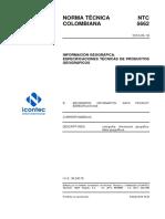 NTC5662_especificaciones_tecnicas_productos_geograficos