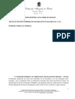 Contestação OAB - ADPF n. 672