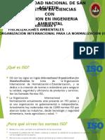 ORGANIZACIÓN INTERNACIONAL PARA LA NORMALIZACIÓN (ISO)