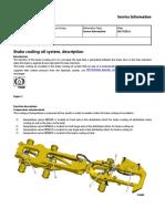 Brake Cooling Oil System, Description