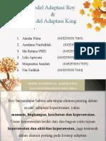 TEORI MODEL ROY & KING KELOMPOK 3-7