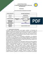 PROGRAMA Historia Argentina II 2019