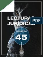 LECTURAS JURÍDICAS 45