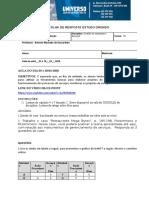 ESTUDO DIRIGIDO AULA 03-04-20