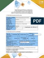 pilar Guía de actividades y rúbrica de evaluación fase 2-Teorías y procesos de la inteligencia (3).docx