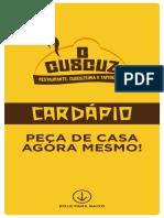 CARDAPIO-ONILE - O Cuscuz