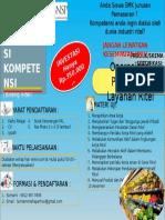 Brosur LSP Retail untuk UKK SMK