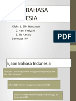 EJAAN BAHASA INDONESIA edit