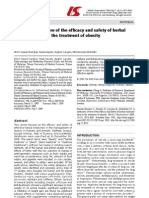 A Systematic Review of the Efficacy and Safety of Herbal