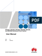 DPU30A, DPU30D, DPU40D, DBU20B, DBU25B, and DBU40B Distributed Power System User Manual
