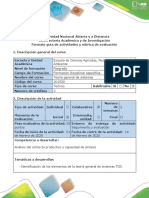 Guía de actividades rúbrica de evaluación - Tarea 1 - Trabajo colaborativo - Reconocimiento de la temática del curso