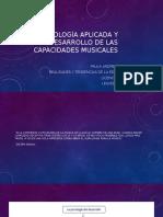 Presentación - Psicología aplicada y desarrollo de las capacidades musicales