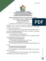 A Política Educacional de FHC