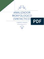 Analizador morfologico
