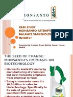 Case Study Monsanto
