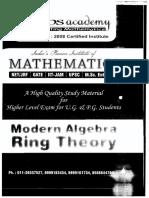 Dips-ModernAlgebraRingTheory-PrintedNotes 86P s