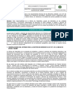 """guia """"1DT-GU-0010"""" REGISTRO Y ATENCION DE REQUERIMIENTOS TECNICOS EN """"SI... (1) (2)"""