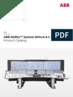 3BSE091397 en E ABB Ability System 800xA 6.1 Product Catalog.pdf