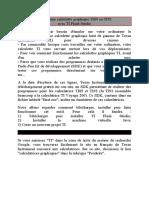 Texas Instrum 92Emuler une calculette graphique TI89 ou