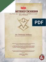 3. Volo's Waterdeep Enchiridion (español)