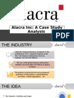 Alacra Inc Case Study