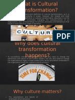 Cultural Transformation