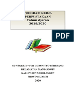 Program Perpustakaan SD - Contoh 1