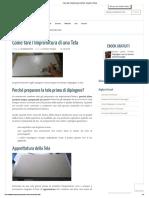 Come fare l'Imprimitura di una Tela • Disegno & Pittura