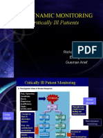 Hemodynamic monitoring in Critically Ill Patients