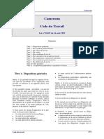 Cameroun - Code du travail.pdf