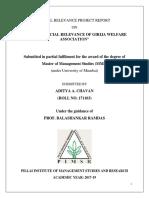 FINAL SOCIAL PROJECT REPORT  - Adi
