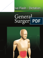 Operative Flash Dictation General Surgery Front Cover