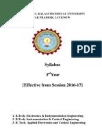 B.Tech. (Electronics & Instrumentation Engineering, Instrumentation & Control Engineering, Applied Electronics and Control Engineering) 3rd syllabus.pdf