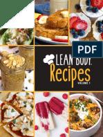 Lean Body Recipes – Volume 1.pdf