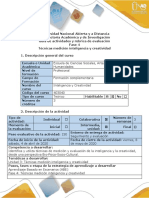 Guía de actividades y rúbrica de evaluación 4-Tecnicas de Inteligencia y Creatividad (1).pdf