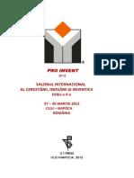 SALONUL INTERNAȚIONAL de inventica Cluj Napoca_2012.pdf