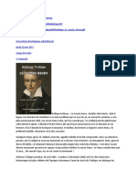 Trollope Anthony – Le Cousin Henry-NOTE-SIT