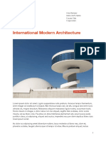 International Modern Architecture