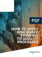 How to apply Risk based Thinking eBook