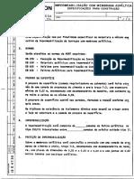 IMPERMEABILIZAÇÃO COM MEMBRANA ASFÁLTICA - ESPECIFICAÇÕES