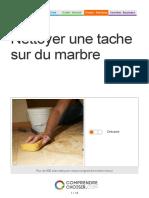 Nettoyer une tache sur du marbre.pdf