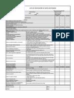 Lista de Verificación de Vehiculos  Pesados   Versión 002  22.10.18
