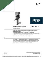 Siemens Refrigerant Valves MVL661